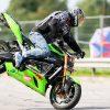 Motociklais susižavi vis daugiau kauniečių