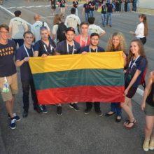 Lietuvių studentų kuriamas bolidas debiutavo tarptautinėse varžybose