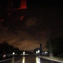 Sekmadienio naktį elektros neturėjo tūkstančiai kauniečių