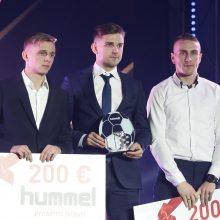 Geriausiu Lietuvos futbolininku antrus metus iš eilės išrinktas F. Černychas