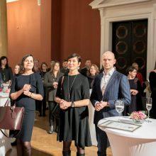 Sostinės geradariams – mero padėkos Vilniaus rotušėje