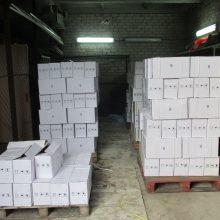 Muitininkai sulaikė daugiau kaip keturias tonas nelegalių pesticidų
