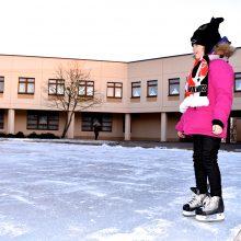Vilniuje – dvigubai daugiau nemokamų čiuožyklų po atviru dangumi