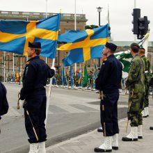 Po Rusijos provokacijų vis daugiau švedų linkę jungtis prie NATO