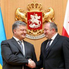 Ukraina ir Gruzija drauge sieks narystės ES ir NATO