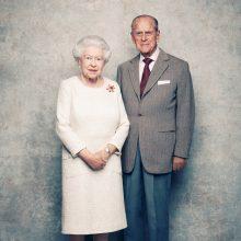Elizabeth II ir princas Philipas mini 70-ąsias santuokos metines