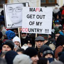 Prezidentas: Slovakijos vyriausybė ignoravo perspėjimus dėl italų mafijos