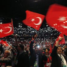 Turkijos diplomatijos vadovas tikisi pagerinti santykius su Vokietija