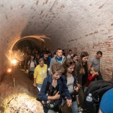Kauno tvirtovės I-ajame forte gaivino naktigonės tradicijas