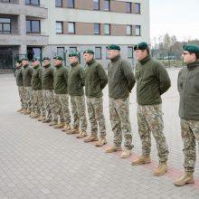Lietuvos kariai prisijungia prie NATO operacijos Afranistane