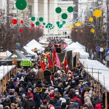 Vilniaus senamiestį užtvindė Kaziuko mugės lankytojai