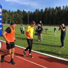 A. Veryga bėgimo trasoje pralaimėjo L. Zareckui