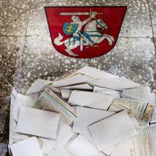 Seimo opozicija blokuoja referendumo šalininkų statuso įteisinimą