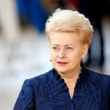 D. Grybauskaitė pradeda vizitą Kinijoje