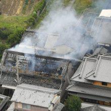 Japonijos Osakos miestą sukrėtė stiprus žemės drebėjimas, yra aukų