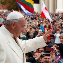Pirmoji popiežiaus diena Lietuvoje: penkios įsimintiniausios citatos