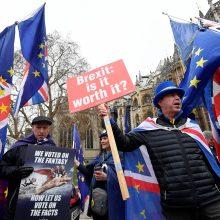 """Prezidentūra: atnaujintos derybos dėl """"Brexit"""" taptų Pandoros skrynia"""