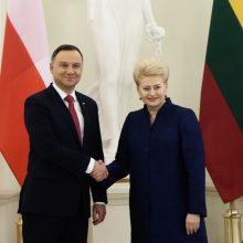 Numatoma sukurti Lietuvos ir Lenkijos gynybos ministrų tarybą