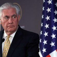 Baltijos šalių užsienio reikalų ministrai kovą susitiks su R. Tillersonu