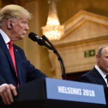 V. Putinas išdėstė D. Trumpui Rusijos poziciją dėl Krymo atplėšimo