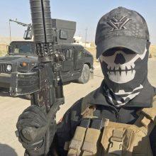 """Irako pajėgos pradėjo puolimą prieš paskutinę """"Islamo valstybės"""" tvirtovę šalyje"""