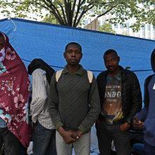 Toliau mažėja į Italiją atvykstančių pabėgėlių skaičius