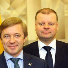 R. Karbauskiui surašytas protokolas dėl S. Skverneliui per rinkimus mokėtos algos