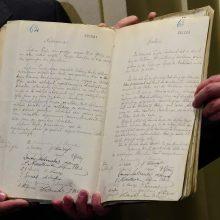 Vokietija Lietuvai perduoda Vasario 16-osios aktą