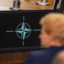 """D. Grybauskaitė: D. Trumpo """"pozityvioji agresija"""" suveikė"""