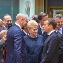 Prezidentė: Lietuva ir toliau priims pabėgėlius pagal ES programą