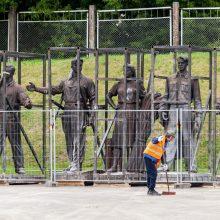 Sovietinių skulptūrų likimas – kol kas su klaustuku