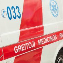 Automobilio sužalotas pėsčiasis neišgyveno – mirė ligoninėje