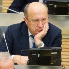 Seimas spręs, ar šalinti A. Kubilių iš A. Skardžiaus apkaltos komisijos