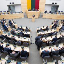 Seimas ėmėsi vadinamojo Magnitskio įstatymo