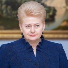 """Prezidentė atėmė valstybės apdovanojimą iš buvusio """"Automagistralės"""" vadovo"""