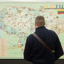 Kaip geografiškai skirstoma Lietuva?