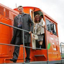 A. Butkevičius: lokomotyvuose buvo galima įdiegti tik rusišką saugos sistemą