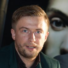 Aktorius M. Jampolskis įtariamas vairavęs neblaivus
