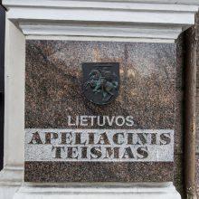 Lietuvos apeliacinis teismas: ir kyšio gavėjas, ir jo davėjas nuteisti pagrįstai