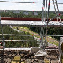 Nelaimė Vilniuje: nukritęs nuo pastolių žuvo jaunutis darbininkas