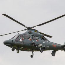 Rusijos pareigūnai jūroje aptiko dingusį parasparnį, pilotas nerastas