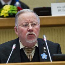 V. Landsbergis: esame tokie nesaugūs kaip niekad