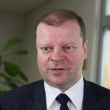 S. Skvernelis Briuselyje susitiks su NATO vadovu