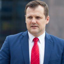 G. Paluckas dar nežino, ar toliau dirbs su liberalais Vilniaus taryboje