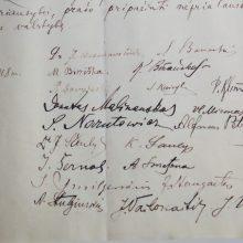 Gėlėmis bus pagerbti Lietuvos Nepriklausomybės Akto signatarų kapai
