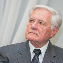 V. Adamkus apie savo prezidentavimą: tokių laiškų nebuvo