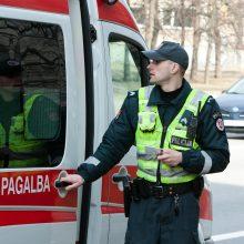 Lazdijų rajone automobilis mirtinai sužalojo pėsčiąjį