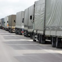 Vežėjai baiminasi neigiamų pasekmių dėl sankcijų Rusijai