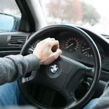 Klaipėdoje susimušė du BMW vairuotojai