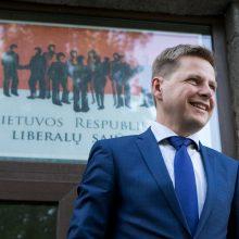 Vilniaus liberalų pasirinkimas gali nulemti partijos ateitį